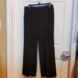 Wow studded waist Sharagano pants